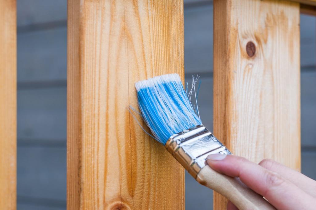 Lackierung von Holz