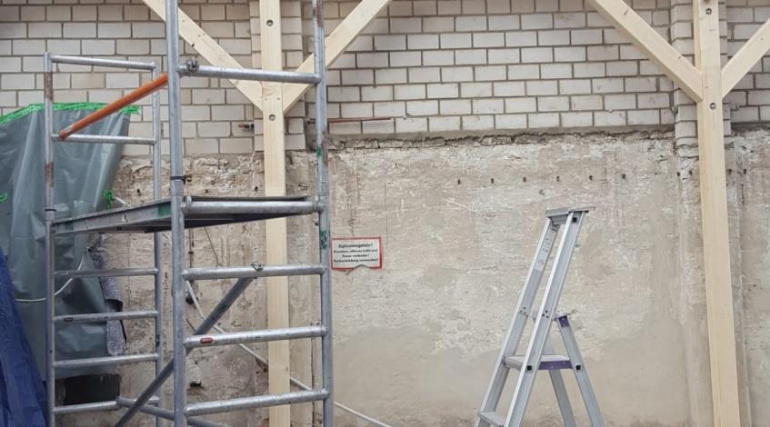 Wandsystem Konstruktionsvollholz